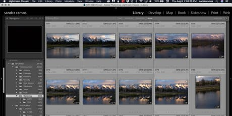 Lightroom for Landscapes w/Sandra Ramos tickets
