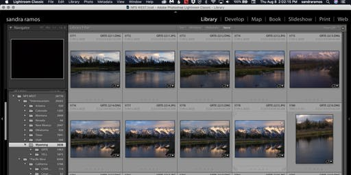 Lightroom for Landscapes w/Sandra Ramos