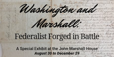 Washington-Marshall Exhibit Preview tickets