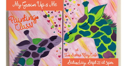 "My Grown-up & Me Painting Class ""Always With Me"" tickets"