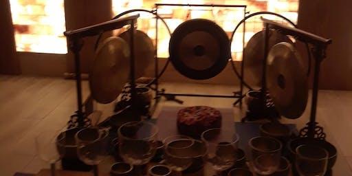 Gongs & Himalayan Singing Bowls