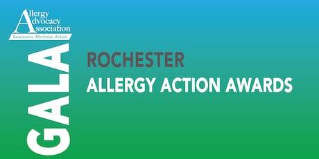 Rochester Allergy Action Awards Fundraising Gala, October 10, 2019 tickets