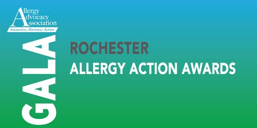 Rochester Allergy Action Awards Fundraising Gala, October 10, 2019
