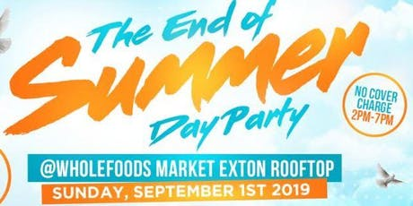 End of Summer Day Party tickets