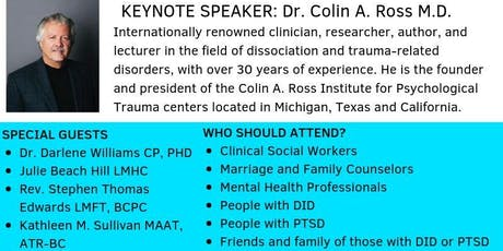 Creating Resilience : A Conference on Trauma, PTSD and DID tickets