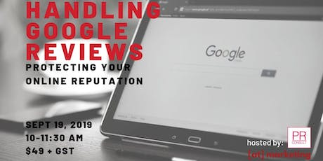 Handling Google Reviews: Protecting Your Online Reputation tickets
