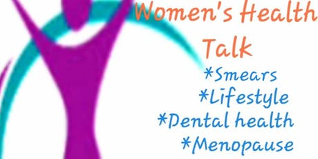 Women's Health Talk and Networking event tickets