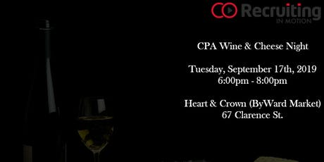 CPA Wine & Cheese Night tickets