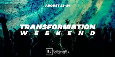 Transformation Weekend tickets