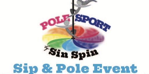 Sip & Pole Event
