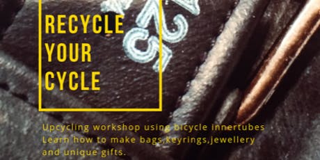 Recycle your Cycle! Make your own Earrings tickets