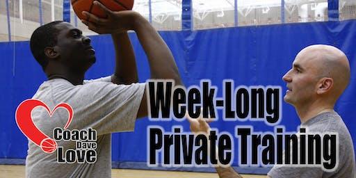 Coach Dave Love Private Shooting Development Week - Deposit - Aug 26-30