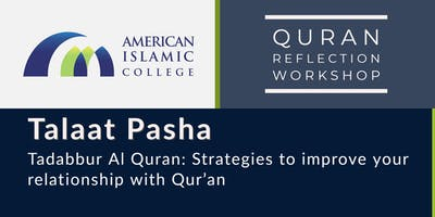 Tadabbur Al Quran: Strategies to improve your relationship with Qur'an - Part 3
