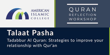 Tadabbur Al Quran: Strategies to improve your relationship with Qur'an - Part 3 tickets