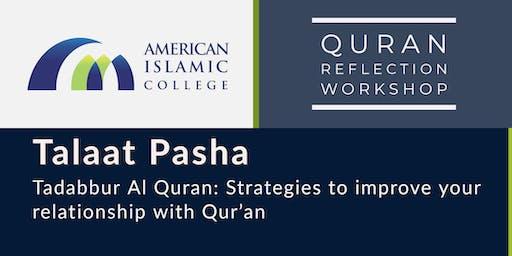 Tadabbur Al Quran: Strategies to improve your relationship with Qur'an - Part 4