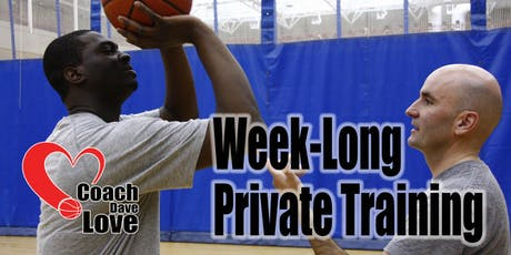 Coach Dave Love Private Shooting Development Week - Deposit - Sept 16-20 tickets
