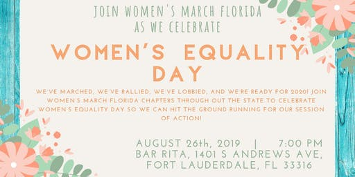 Women's Equality Day Fun-raiser!