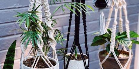Macrame Plant Hanger Workshop tickets