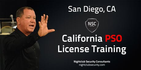 San Diego | Cal-PSO Security Licensing Training | September 3rd, 4th, & 5th | Marriott Gaslamp Quarter tickets