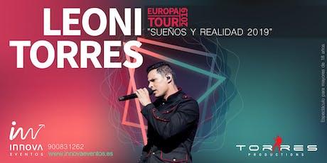 Leoni Torres 2019 Zaragoza entradas