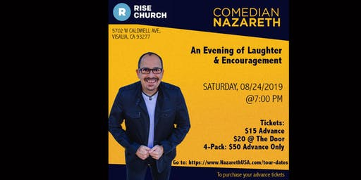 Rise with Comedian Nazareth