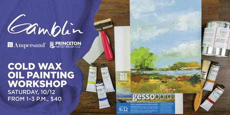 Cold Wax Oil Painting Workshop at Blick Iowa City tickets
