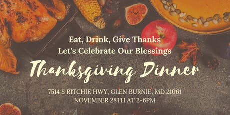 Thanksgiving Dinner 2019 tickets