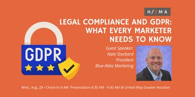 Legal Compliance and GDPR: What Every Marketer Needs to Know Breakfast