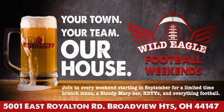 Football Weekends at Wild Eagle Steak and Saloon tickets