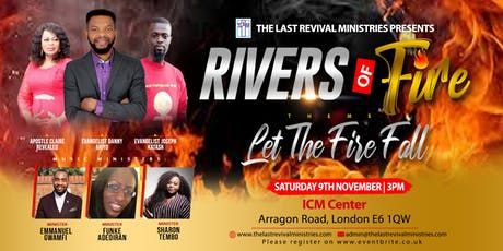 Rivers of Fire Conference 2019 tickets