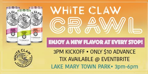 2nd Annual WHITE CLAW CRAWL!