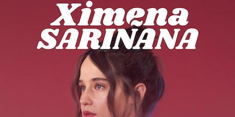 XIMENA SARIÑANA tickets