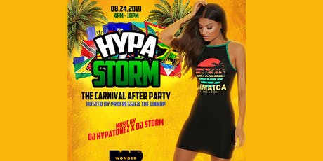 """HYPA-STORM"" - The Boston Carnival After Party  tickets"