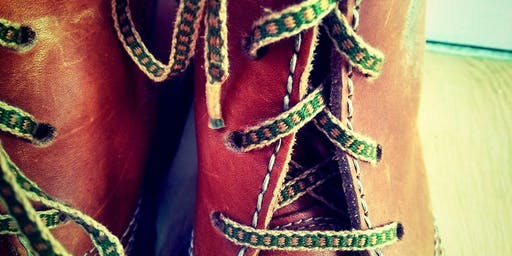 Weave Your Own Shoelaces Workshop No1