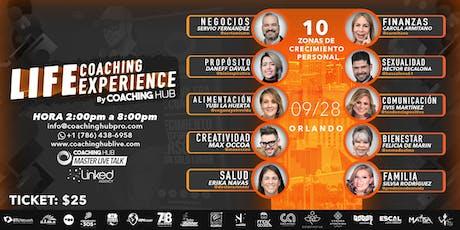 Master Live Talk Orlando - Life Coaching Experience  tickets