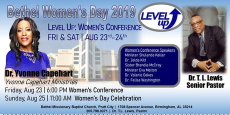 Bethel's Women's Day 2019 Conference tickets