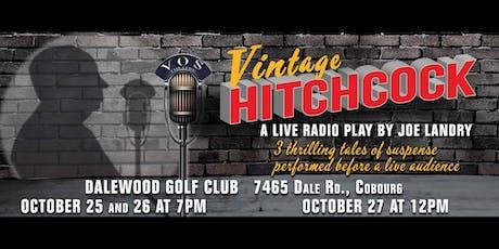 Vintage Hitchcock: A Live Radio Play tickets
