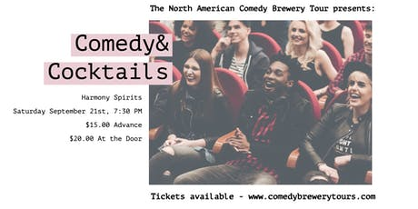 Comedy and Cocktails at Harmony Spirits tickets