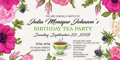 Julia Monique Johnson- Birthday Tea Party