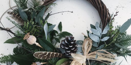 Willow Base Christmas Wreath Workshop