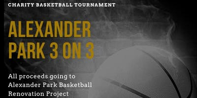 Alexander Park 3vs3 Basketball Tournament $500 Grand Prize