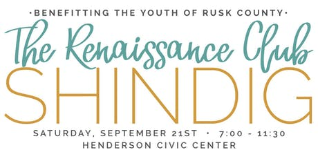 Renaissance Club Shindig tickets