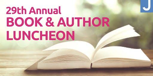 2019 Levis JCC Sandler Center Book & Author Luncheon - Non Member