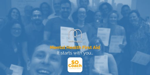 Mental Health First Aid - Altrincham - Adult Two Day