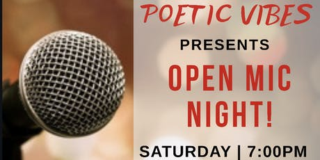 Poetic Vibes - Spoken Word, Poetry, Music & More! tickets