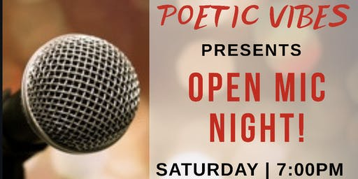 Poetic Vibes - Spoken Word, Poetry, Music & More!