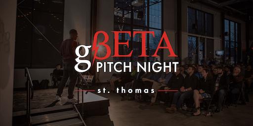 gBETA St. Thomas Pitch Night Summer 2019