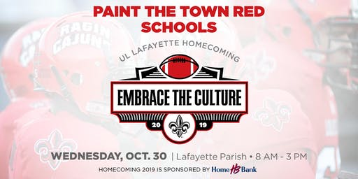 Paint the Town Red – Schools