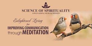 Improving Communication  through Meditation