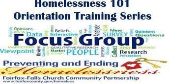 Homelessness 101 Training Series - Focus Group